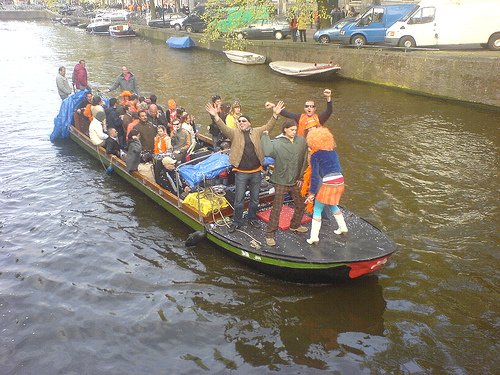 Queensday Boat